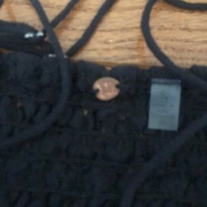 Free People Dresses - 🌟new free People Adella lace dress black large